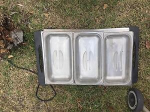 Electric food warmer heater 3 tray commercial type Greystanes Parramatta Area Preview