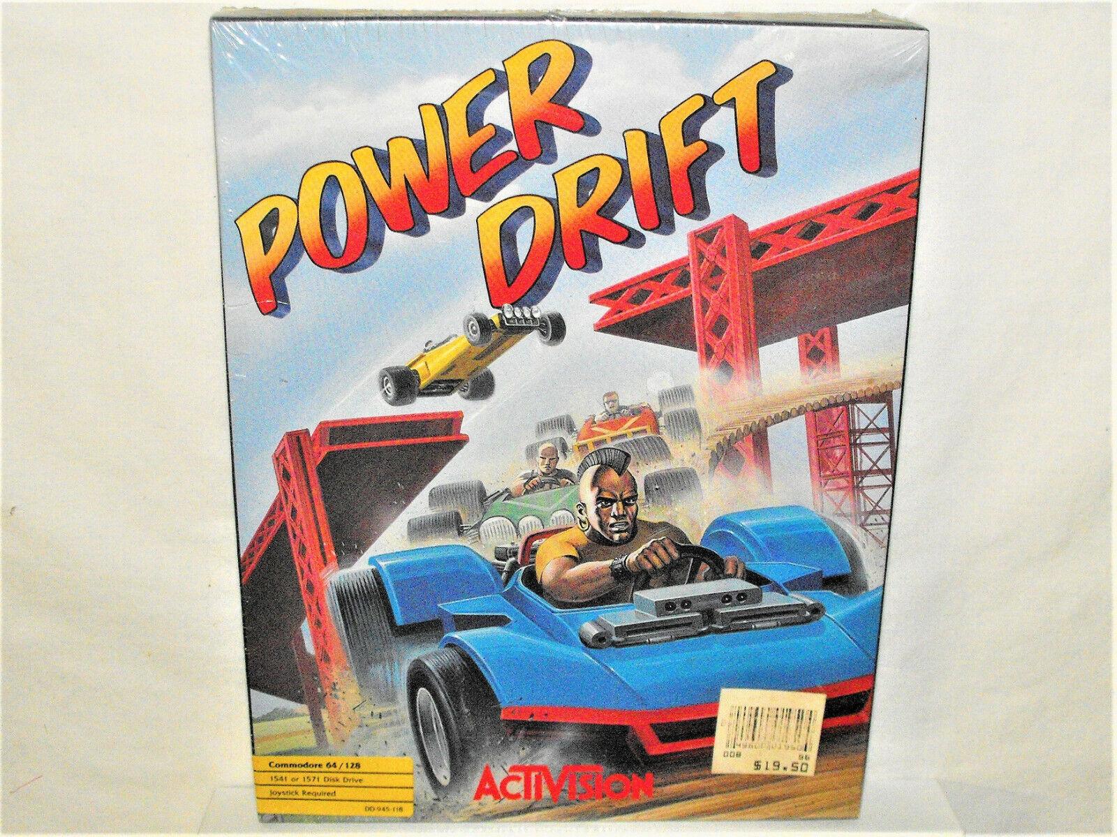 Computer Games - Commodore 64/128 PC Computer Game POWER DRIFT Activision SEGA Racing Sealed Box