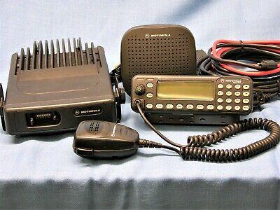 Motorola Mcs2000 Iii Model Mo1hx437w 110 Watt Vhf Radio 146-174 Mhz Complete