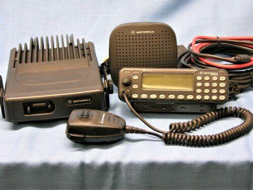 Motorola MCS2000 III, Model MO1HX+437W, 110 watt VHF Radio 146-174 MHz COMPLETE