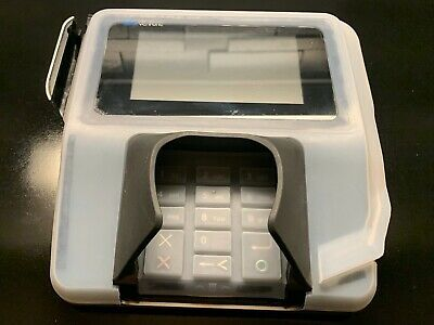 Verifone Mx915 Full Antimicrobial Cover W Tempered Glass Screen Protector