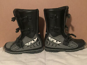 Fly Racing motor cross boots  Cambridge Kitchener Area image 3