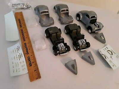 1941 Willys Gasser Coupe1/43 Die-cast Metal Model Kit Parts,Bodies,Chassis,more