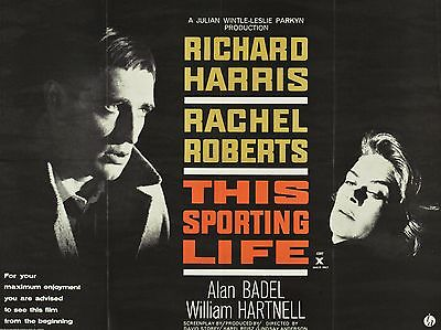 """This Sporting Life 16"""" x 12"""" Reproduction Movie Poster Photograph"""