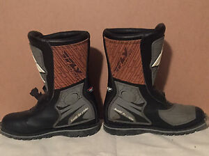Fly Racing motor cross boots  Cambridge Kitchener Area image 4