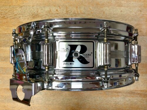 """Rogers """"Big R"""" Dyna-Sonic Snare Drum"""