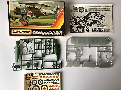 Matchbox Armstrong whit worth SISKIN III A 1:72