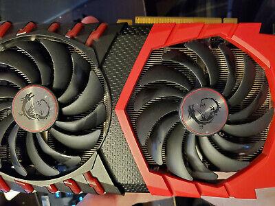 MSI Radeon RX 580 4gb Gaming X 4g GPU AMD Graphics Card - Light Usage