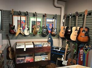 Tons of vintage guitars with cases! Great gift idea Edmonton Edmonton Area image 1