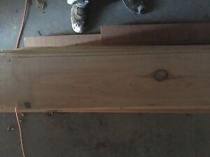 "3/4"" Shiplap Pine w/ Bandsaw Cut"