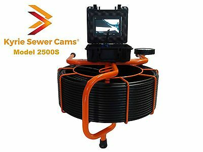 250 Foot Pipe Inspection Camera Sewer Main Inspection 512 Hz Sonde Locating