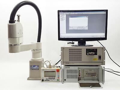 Epson Seiko D-tran Tt8550 Robot W Drive Unit Rc Option Key Src-320 Controller