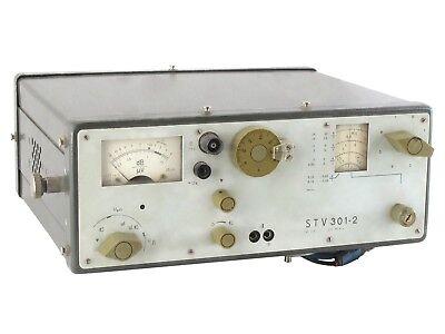 Stv 301-2 0.15mhz-30mhz Selective Microvoltmeter Veb Messelektronik Gdr Rft