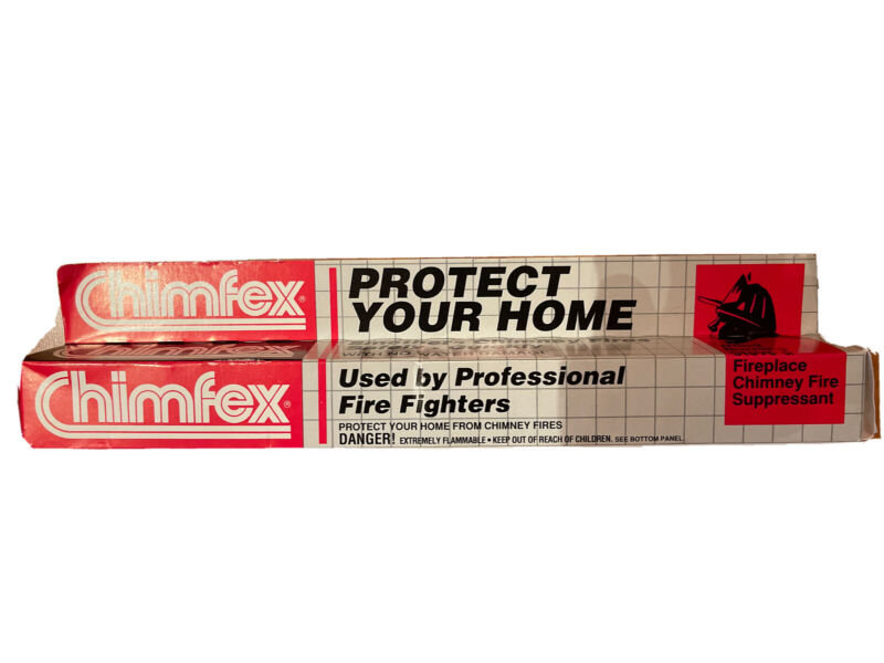 Chimfex Chimney Fire Extinguisher Smothers Fires No Water - Brand New