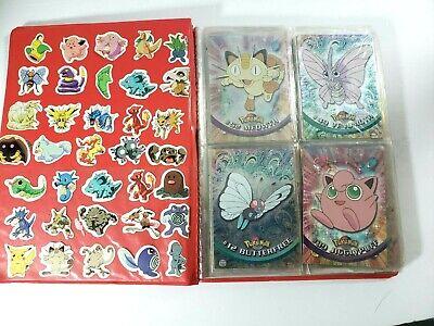 Vintage 90'S Pokemon Cards Topps Lot 37 Original Album