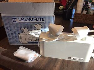 6V Commercial Emergency Lights- Almost New!   Prince George British Columbia image 1