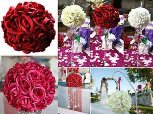 Boule de rose boule de fleur pour décoration mariage vase martini 20 ...