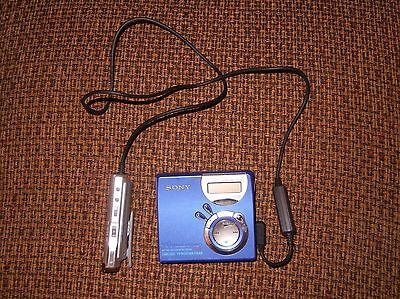 Sony Net Md Walkman Mz Nf610 Type S Mini Cd Player