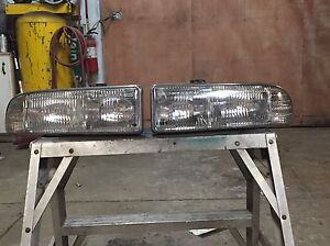Chevy s10/blazer 98-05 headlights and markers