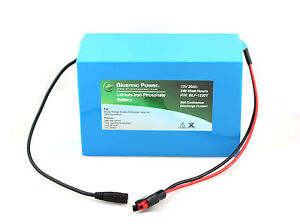 12V-20Ah-Lithium-Iron-Phosphate-LiFePO4-Battery-w-PCM-INCLUDING-CHARGER