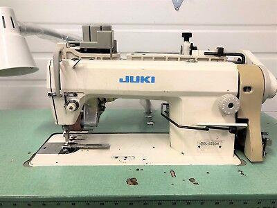 Juki Ddl-5550n High Speed Single Needle Racing Puller Industrial Sewing Machine