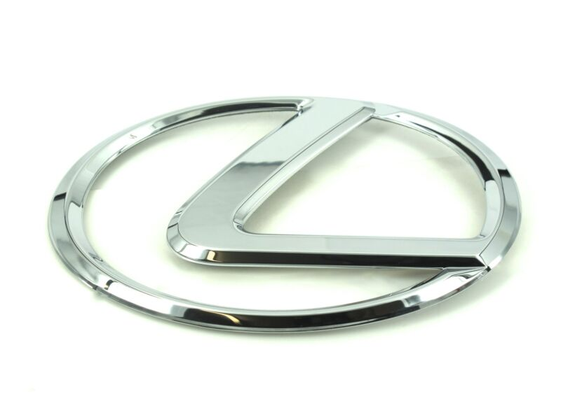 Genuine New LEXUS BOOT BADGE Rear Emblem For IS 2013+ ES & GS 2012+ GS F 2015+