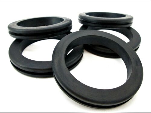 """2 1/2"""" Rubber Grommets  2 1/8"""" ID  2 7/8"""" OD  Fits 2 1/2"""" Hole & 1/8"""" Panel"""