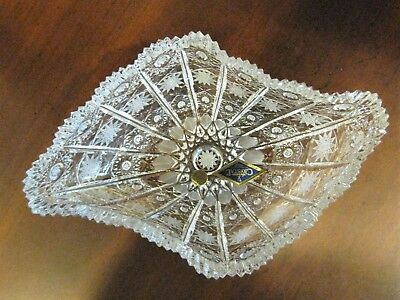 Bohemian Czech Vintage Crystal 8