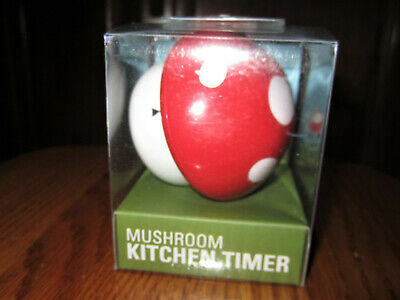 Kikkerland mushroom kitchen timer