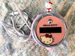 Hello Kitty Alarm Clock AM/FM Projection Radio model # kt2054