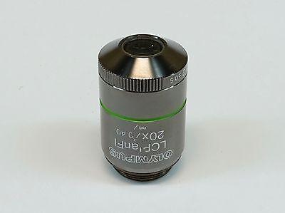 Olympus Lcplanfl 20x0.40  Cap-g1.2-0.5 Microscope Objective