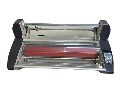 Gbc Catena 65 Thermal And Pressure Sensitive Roll Laminator 27 Max. Width Used