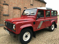 Land Rover Defender 110 200tdi County Station Wagon RHD USA Exportable