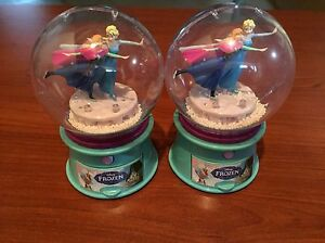 Frozen Snow Globes and Elsa head