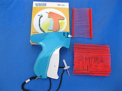 Garment Price Label Tag Tagging Gun Plus 1000 2 Red Barbs