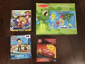 Puzzles (kids) / Board Games