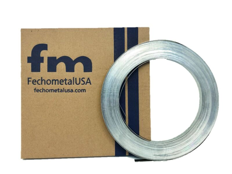 """304 Stainless Steel Heavy Duty Band 1"""" x 0.044"""" x 100"""