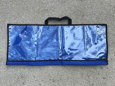 SPREADER BAR DREDGE BAG LURE FISHING OFFSHORE TACKLE STORAGE 30