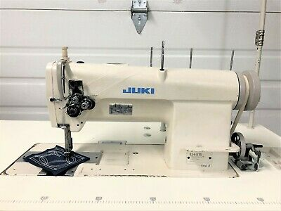 Juki Lh-515 2 Needlefeed 316 New Table Top 110v Servo Industrial Sewing Machine