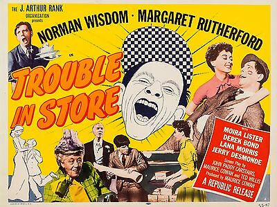"Trouble in Store 16"" x 12"" Reproduction Movie Poster Photograph"