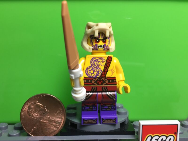 From Set 70754 LEGO NinjaGo MiniFigure with Copper Spear Chope