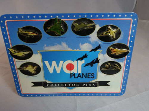 Fighter Jets  War Airplane Pin Badge  Collector -New-8