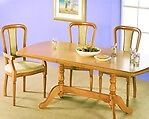 Rossmore by Sherry Maple Extendable Dining Table With Six Chairs