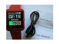 Brand new smart watch in box / makes calls-everything/ cash or swaps