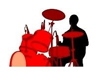 Mature DRUMMER With Vocals Available.