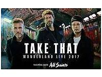 2 X TAKE THAT TICKETS SOLD OUT GIG SEE HYDRO THURSDAY 11 MAY 2017