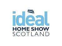 TWO TICKETS TO IDEAL HOME SHOW SCOTLAND - SUNDAY 3 JUNE 2018 - only £8 for both tickets