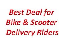 Scooters & Bikes Riders Wanted. Evening Delivery Fashion and Beauty Parcels to Homes All London Area