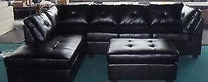 $795 - Sectional with Storage ottoman - Free Delivery