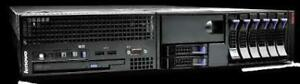 Lenovo RD120 - 2 x 4 Cores - 8Gb RAM - 8 x 146Gb SAS 10K - RAID - Fully Tested Working - FREE SHIPPING